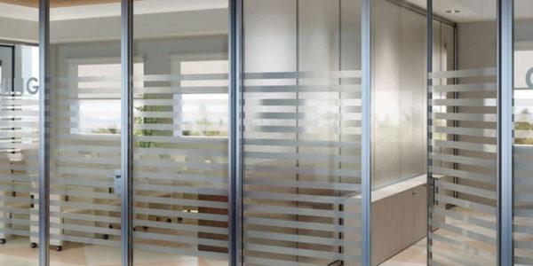separation bureau – concept et realisation aluminium